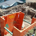 LITE guard manhole box in use