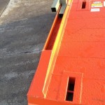 adaptor bracket for attaching trench shields in a access chamber / manhole box configuration