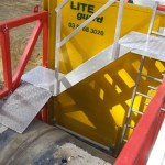 LITE guard custom access platform for tight spaces