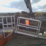 Safe Access to trenches with LITE guard Access Platforms