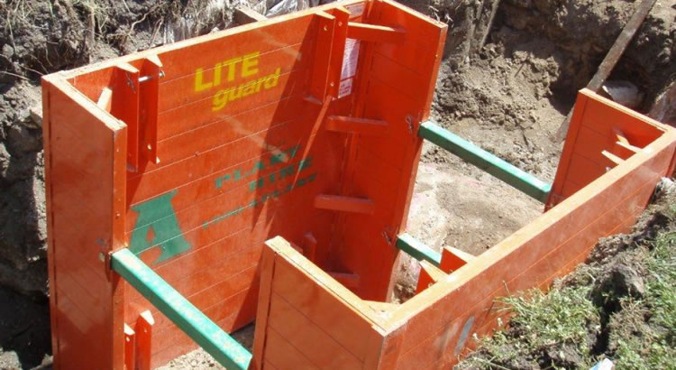 LITE guard Manhole Box / Access Chamber Unit on site