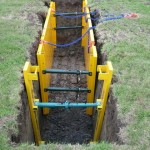 LITE guard soldier set providing additional trench shoring