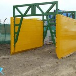 single depth super trench shield set with high clearance spreader bars