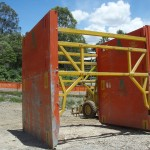 LITE guard Super Size Shields stacked with high clearance spreader bars
