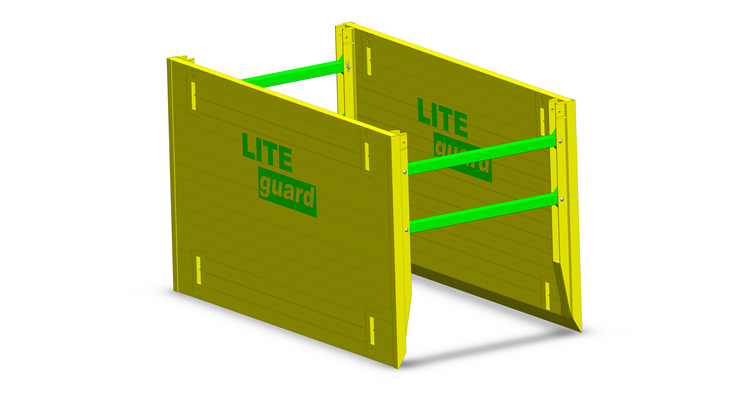 LITE guard Super Trench Shield