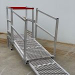 Ladder Mate with Telescoping Walkway (Front)
